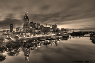 Nashville TN skyline