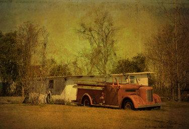Garage art series (traditional Photography)