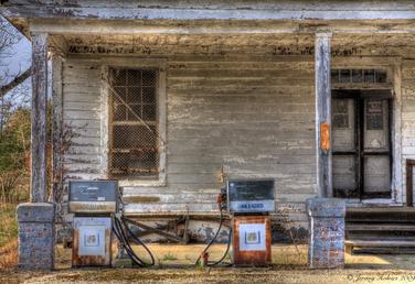 Garage art series (traditional Photography)