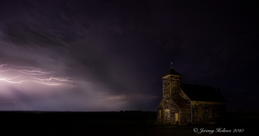 ND Ghost town church