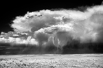 Storm builds over the High plains of WY 6-25-11